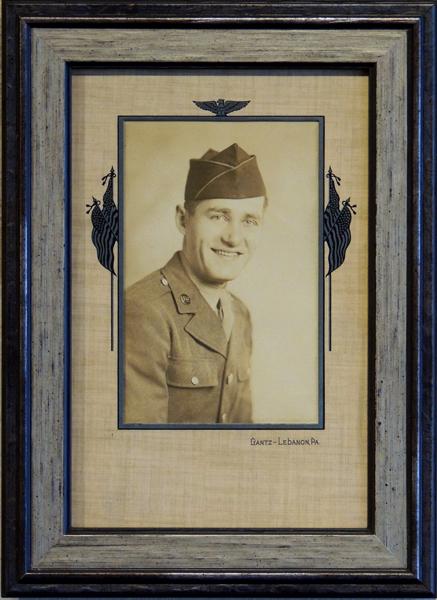 Vintage Military Portrait, photography