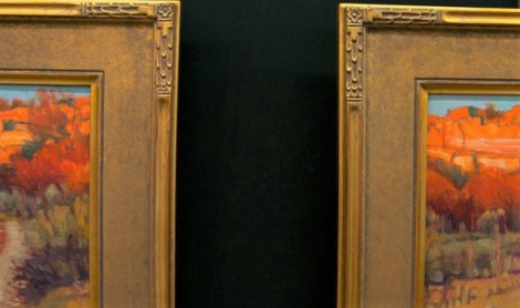 Patina Gold Leaf | Custom Gilded Frames