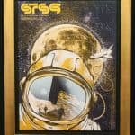 Framed concert poster – Sound Tribe Sector 9