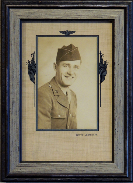 Vintage Military Portrait, photography
