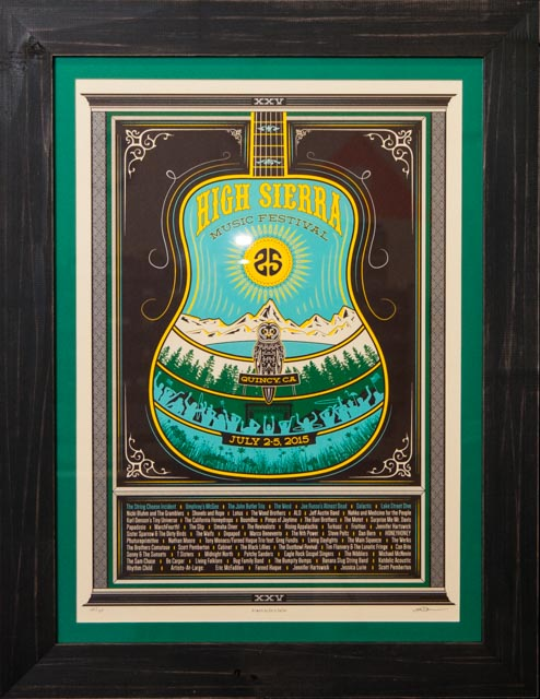 High Sierra Music Festival, poster