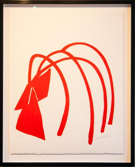 'Orange Abstract', Alexander Calder
