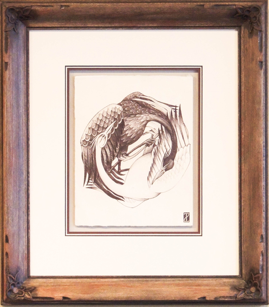Custom Hand Carved Frame