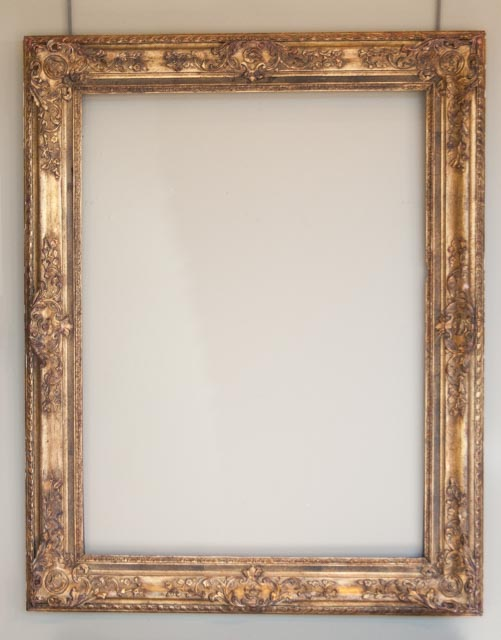 Natural Wood Frame | AUM Framing and Gallery