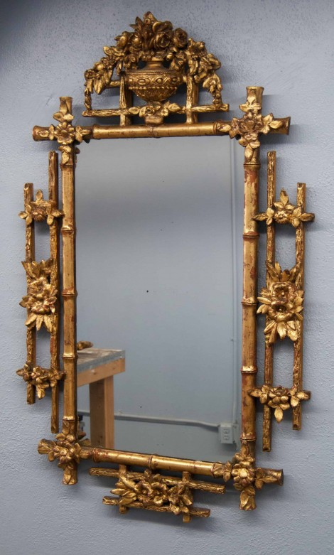 Bringing New Life to a Damaged Antique Mirror Frame